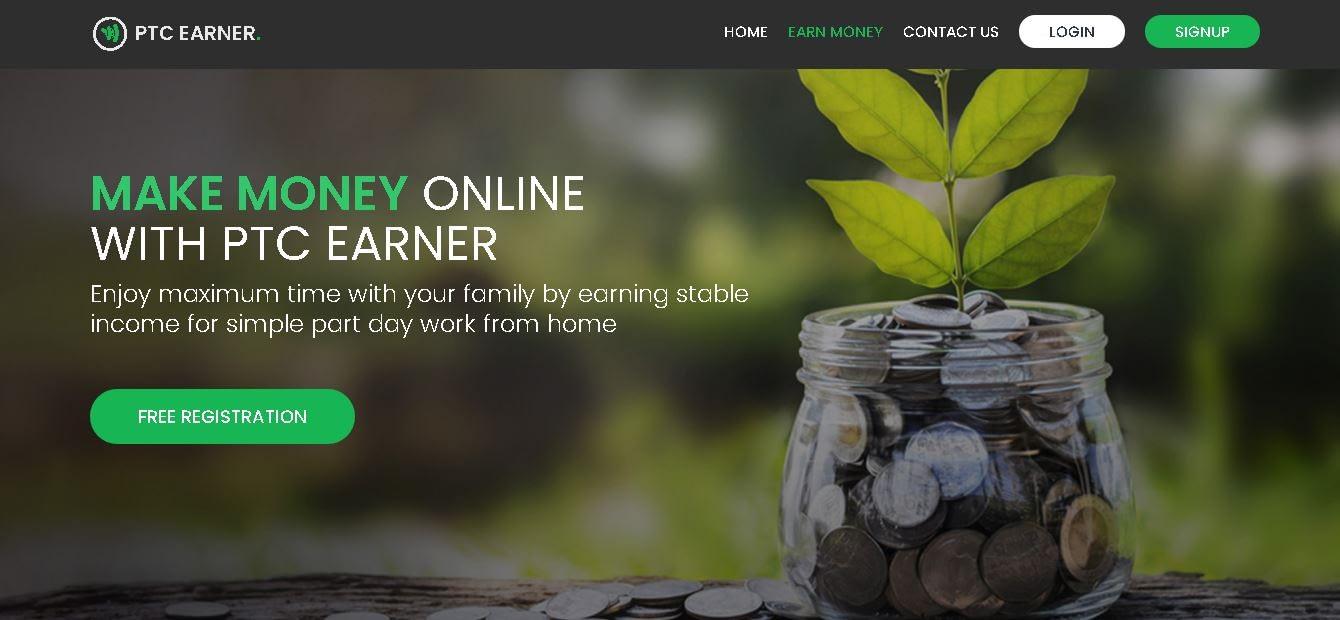 Make Money Online from ptcearner