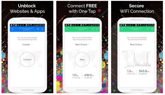 Download Touch VPN Best VPN - Free Unlimited