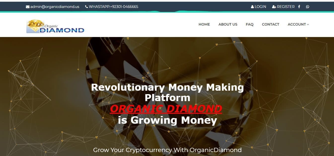 How to earn money from organicdiamond