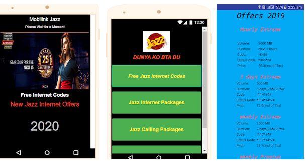 New Jazz Internet Offers 2019