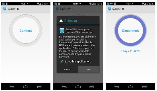 Download SuperVPN Free VPN Client apk for Android