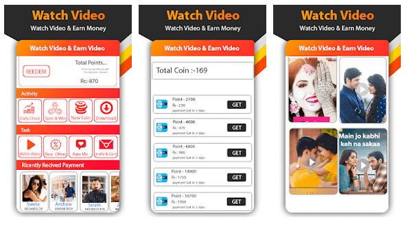 Watch Video Status Daily And Earn Money Win Reward