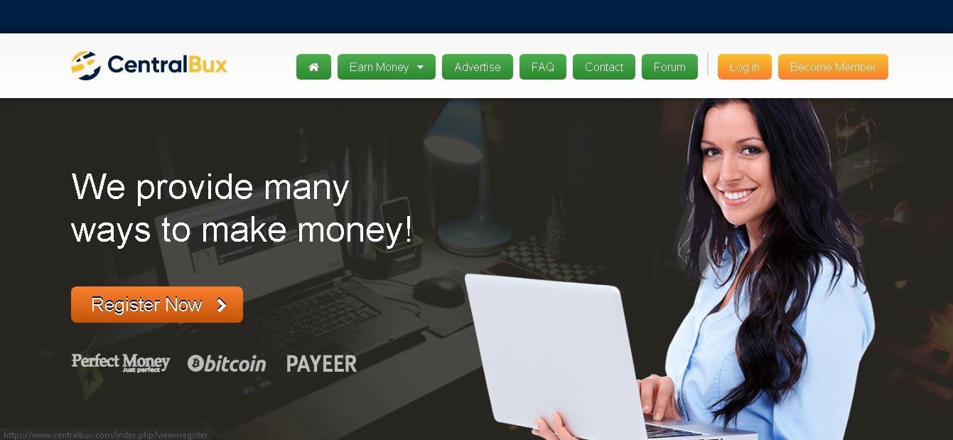 Make Money Online from centralbux