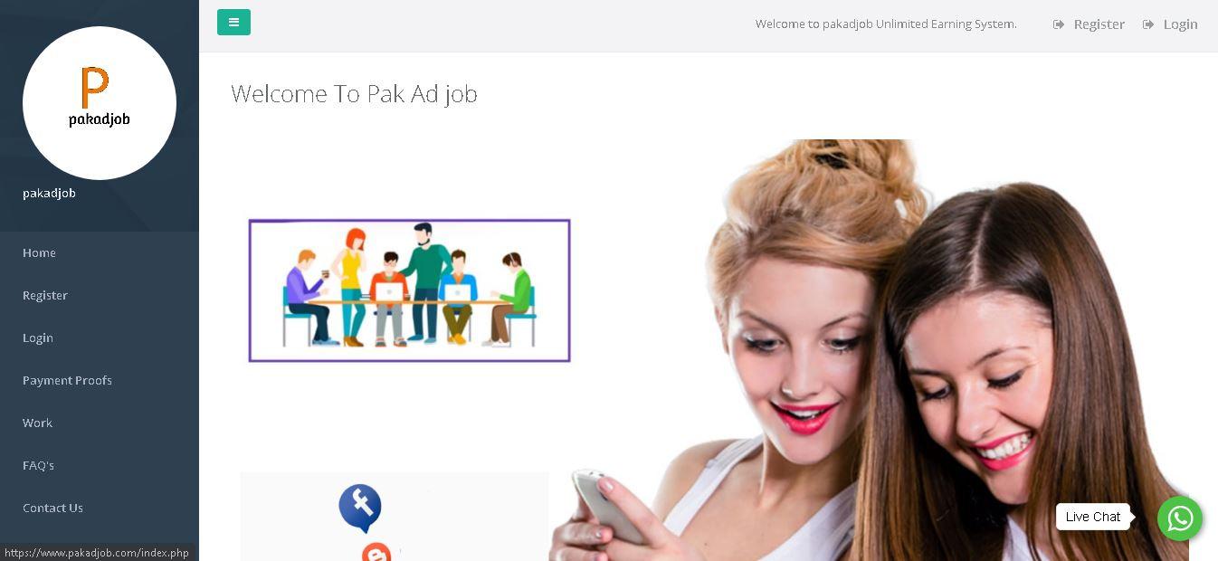 How to make money online from pakadjob