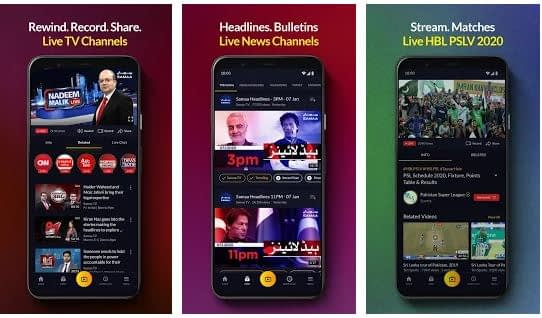 Download Mjunoon.tv: Live TV Free Streaming For Android