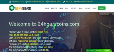 How to Earn Money from 24hourscoins